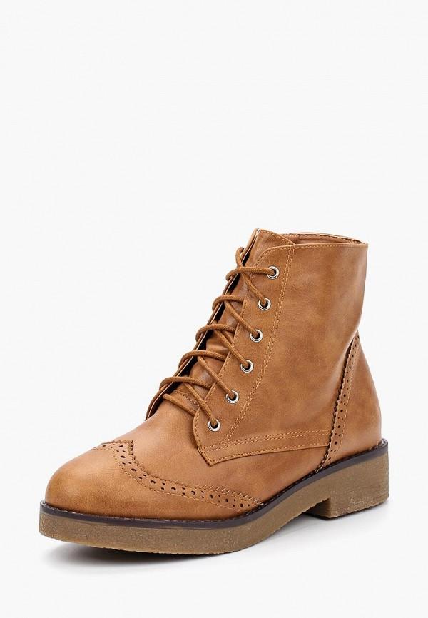 Купить Ботинки Encor, en010awbpot1, коричневый, Весна-лето 2018