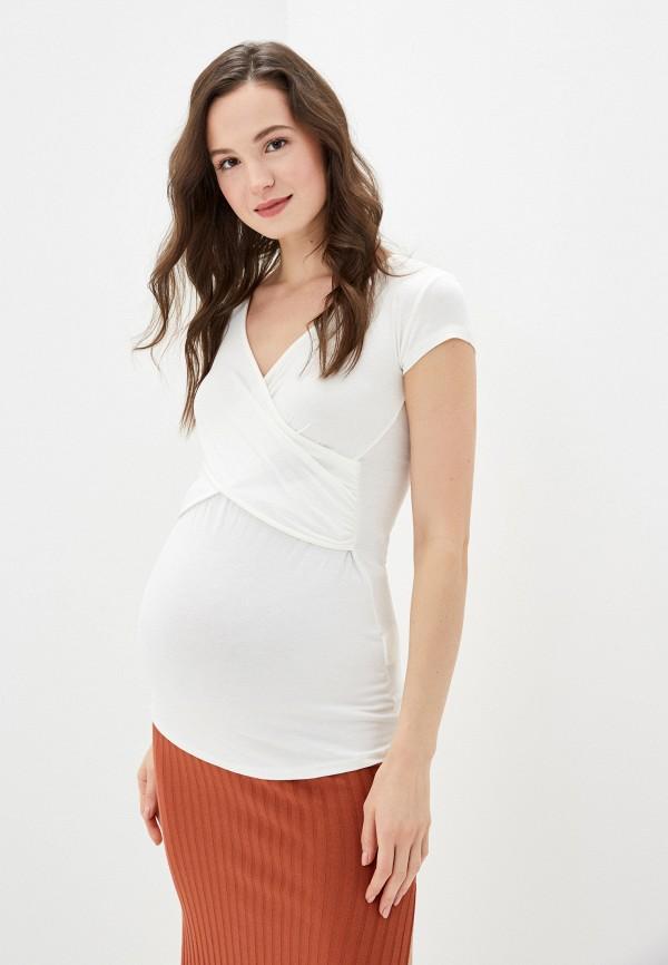 женская футболка envie de fraise, белая