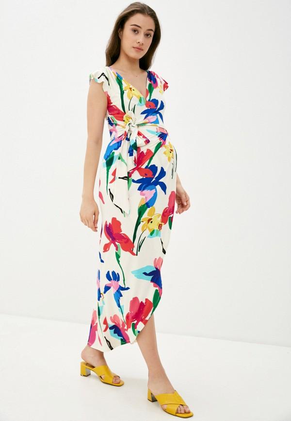 женское повседневные платье envie de fraise, белое