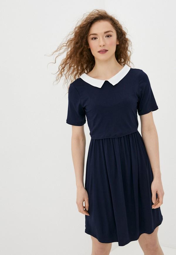 женское повседневные платье envie de fraise, синее