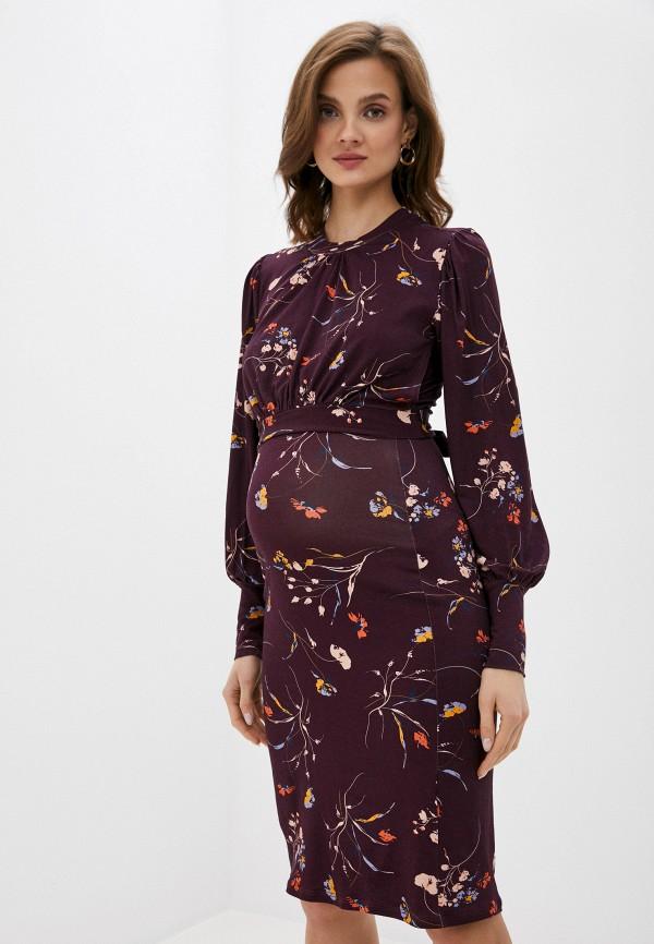 женское повседневные платье envie de fraise, фиолетовое