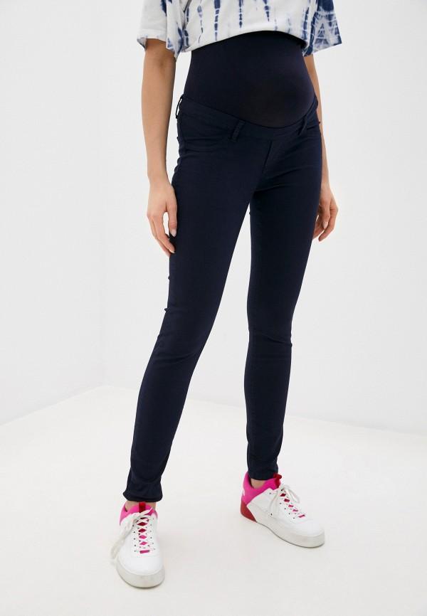 женские повседневные брюки envie de fraise, синие