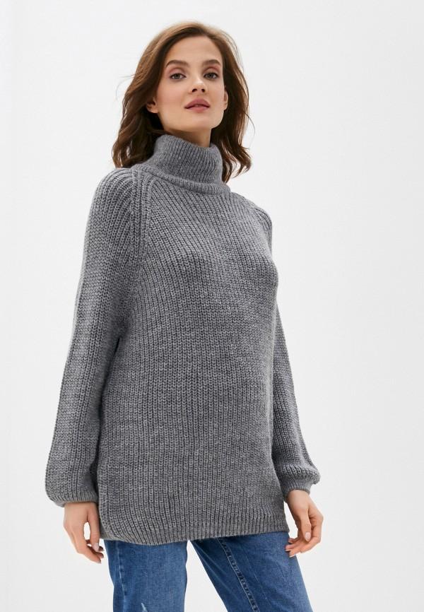 женский свитер envie de fraise, серый