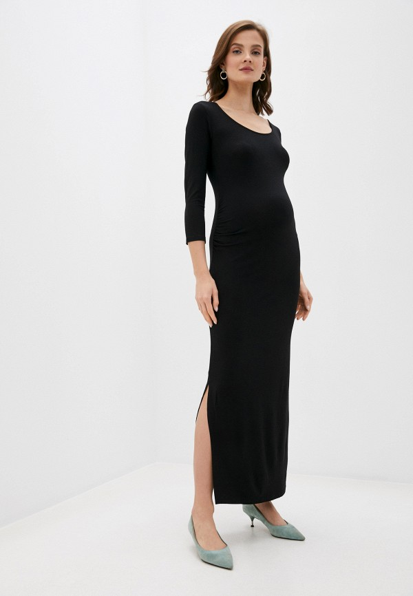 женское повседневные платье envie de fraise, черное