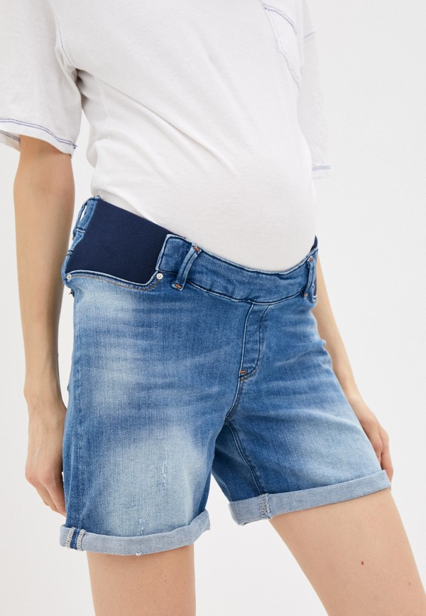 женские джинсовые шорты envie de fraise, синие