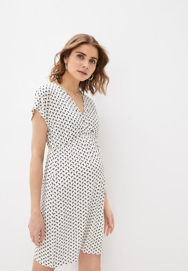 женское платье envie de fraise, белое