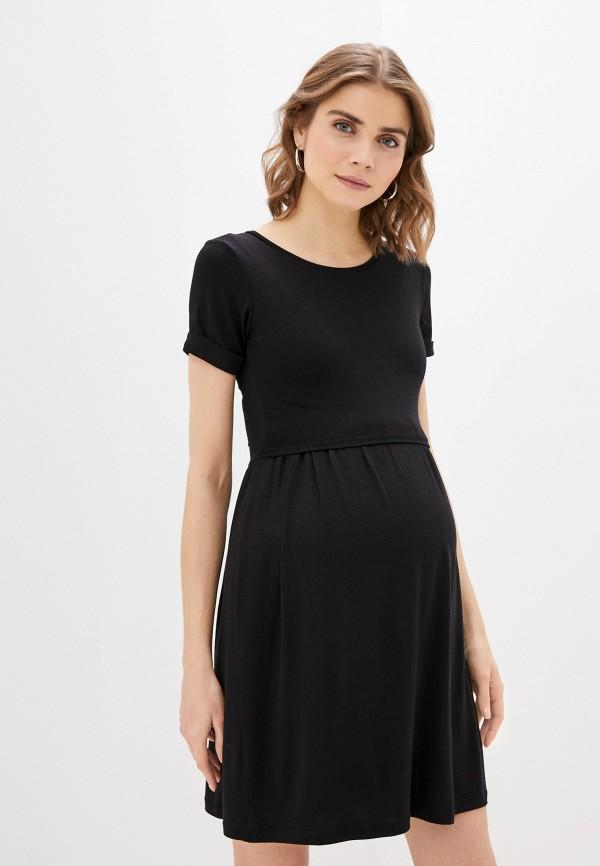 женское платье envie de fraise, черное