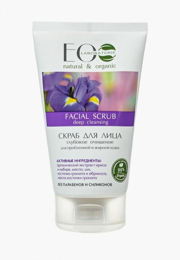 Купить Скраб для лица EO laboratorie, Глубокое очищение для проблемной и жирной кожи, 150 мл, eo001lwlzf53, Осень-зима 2018/2019