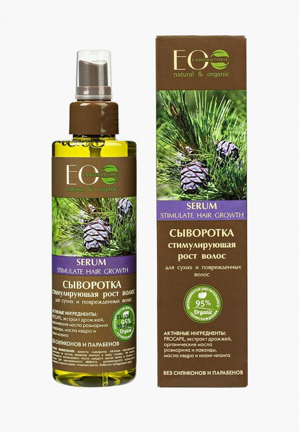 Купить Сыворотка для волос EO laboratorie, стимулирующая рост Для сухих и поврежденных, 200 мл, EO001LWLZF76, Весна-лето 2018