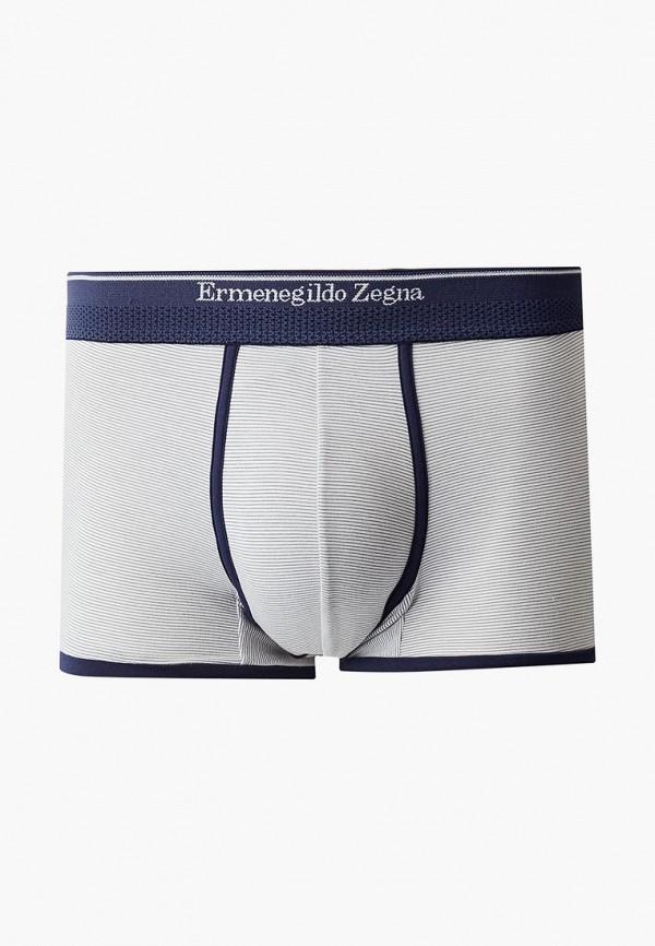 мужские трусы-боксеры ermenegildo zegna, серые