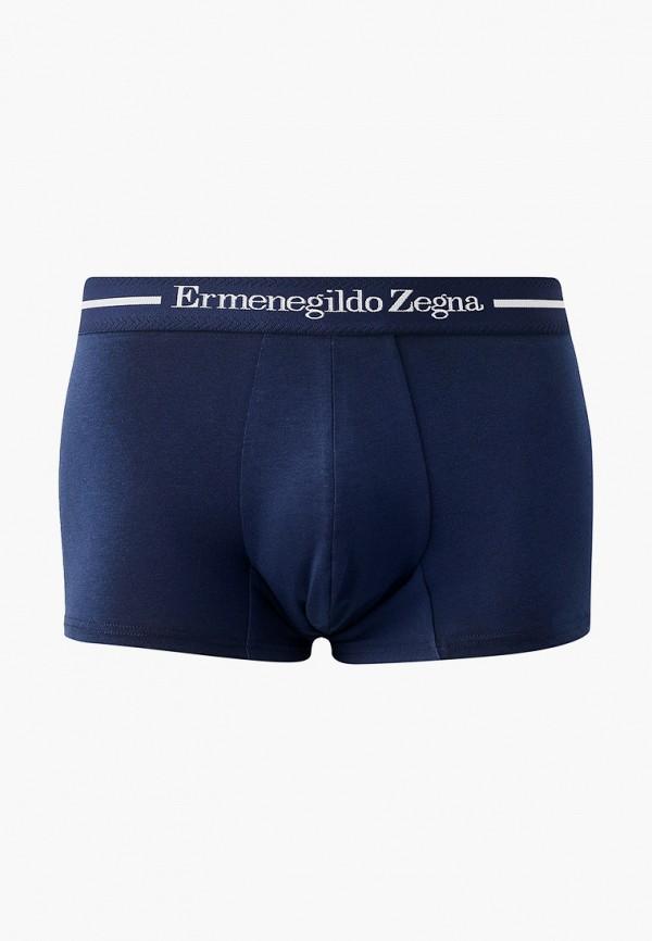 мужские трусы-боксеры ermenegildo zegna, синие