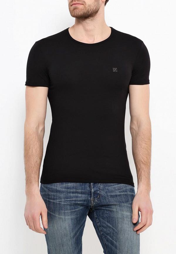 мужская футболка ermenegildo zegna, черная