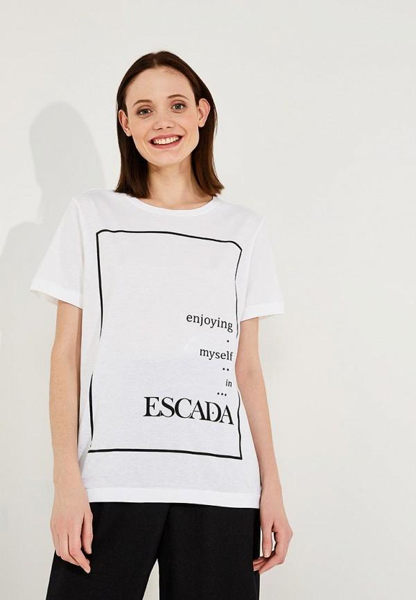 Футболка Escada Sport Escada Sport ES006EWAEHQ1 escada sport футболка