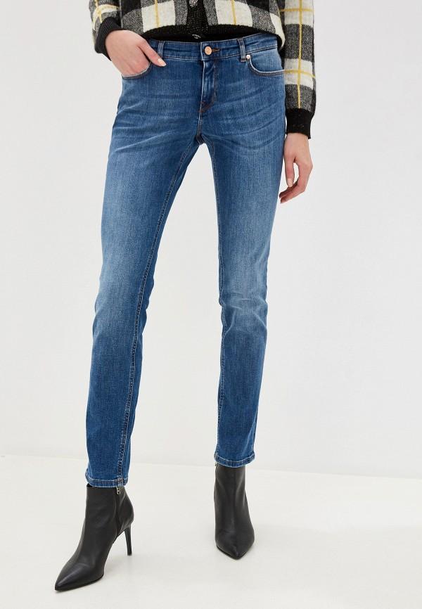 женские джинсы скинни escada, синие