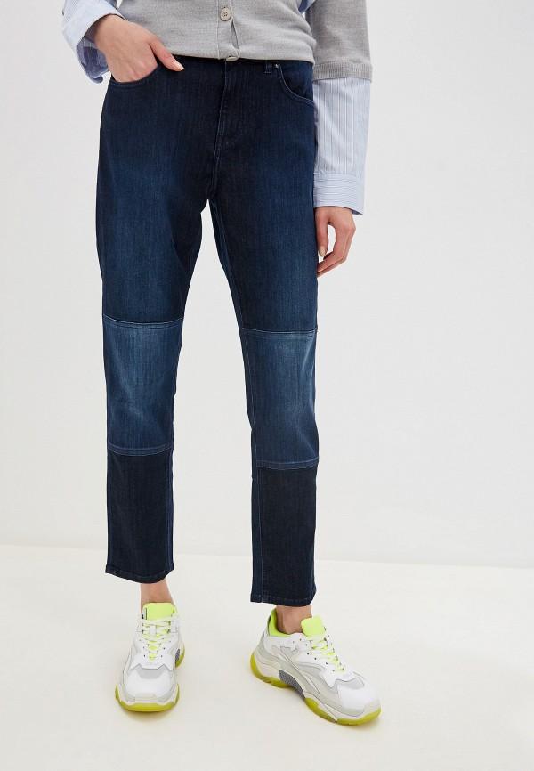 женские прямые джинсы escada, синие
