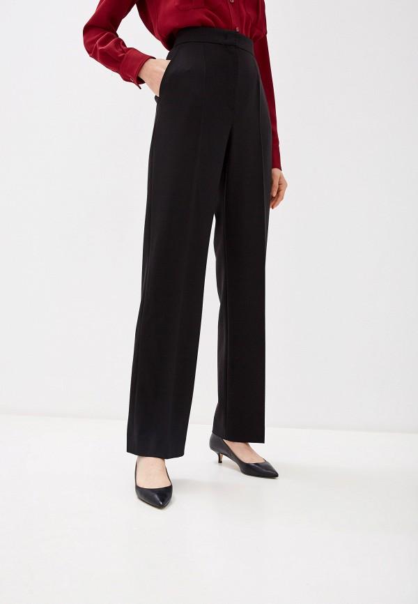 женские классические брюки escada, черные