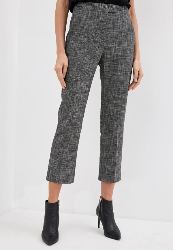 женские классические брюки escada, серые