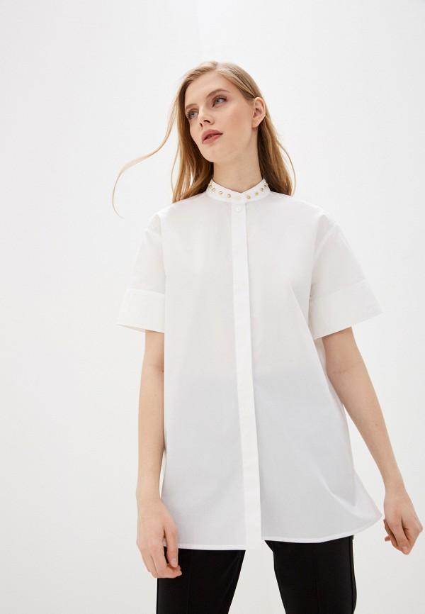 женская блузка escada, белая
