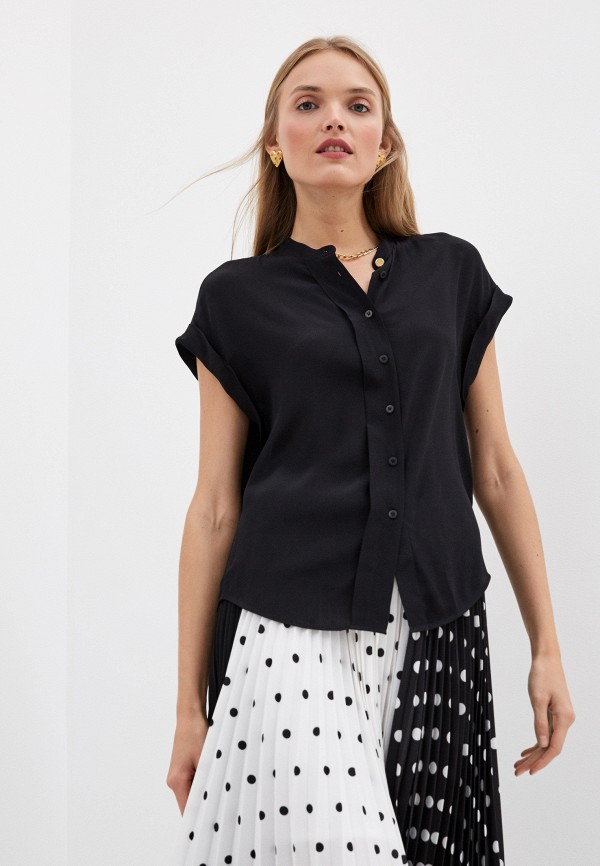 женская блузка escada, черная
