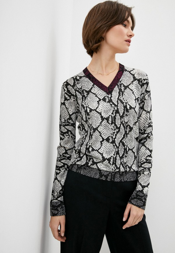 женский пуловер escada, черный