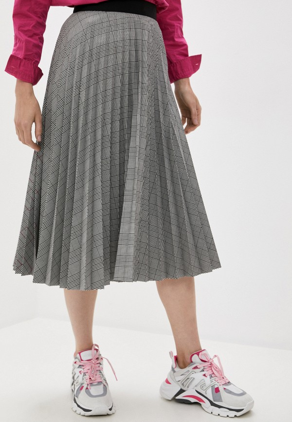 женская юбка escada, серая