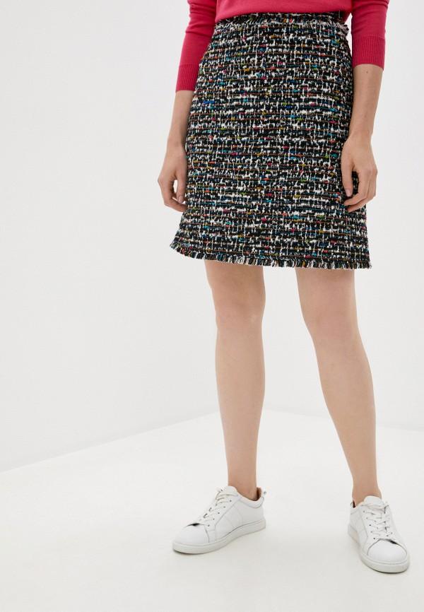 женская прямые юбка escada, разноцветная