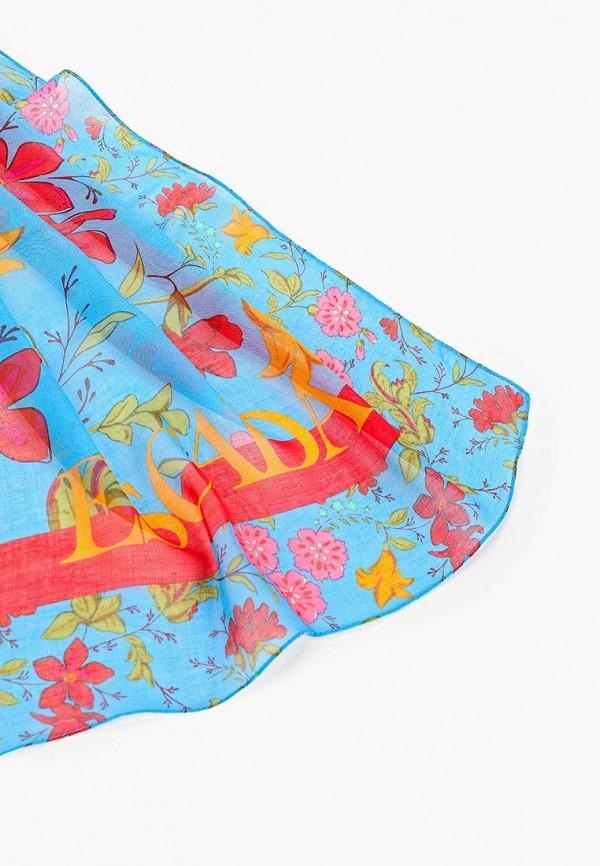 Фото 2 - женский платок Escada Sport синего цвета