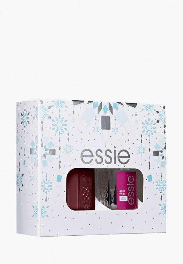 женский лак для ногтей essie, бордовый