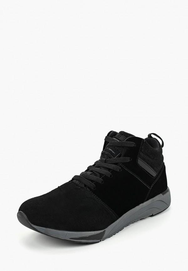 мужские высокие кроссовки escan, черные