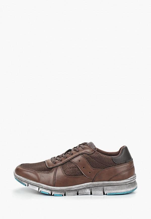 мужские кроссовки escan, коричневые