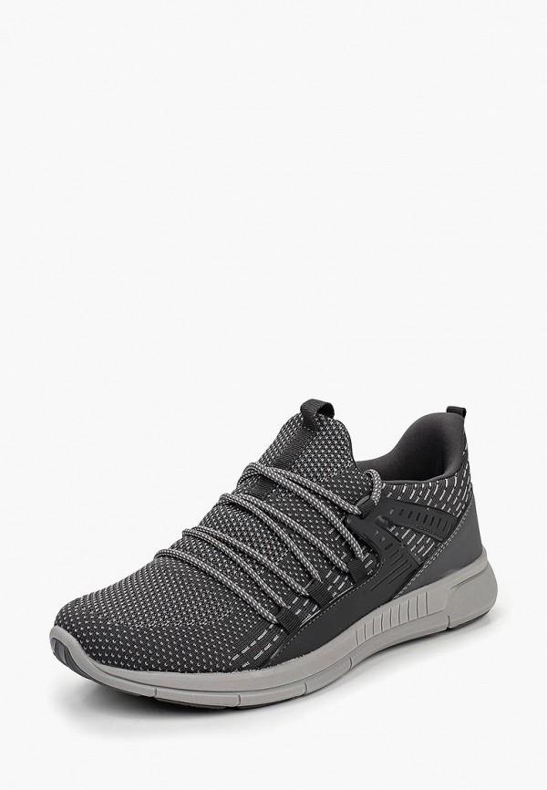 Фото 2 - мужские кроссовки Escan серого цвета