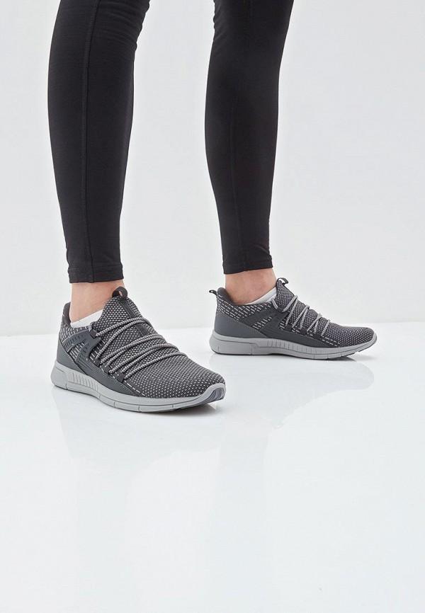 Фото 6 - мужские кроссовки Escan серого цвета