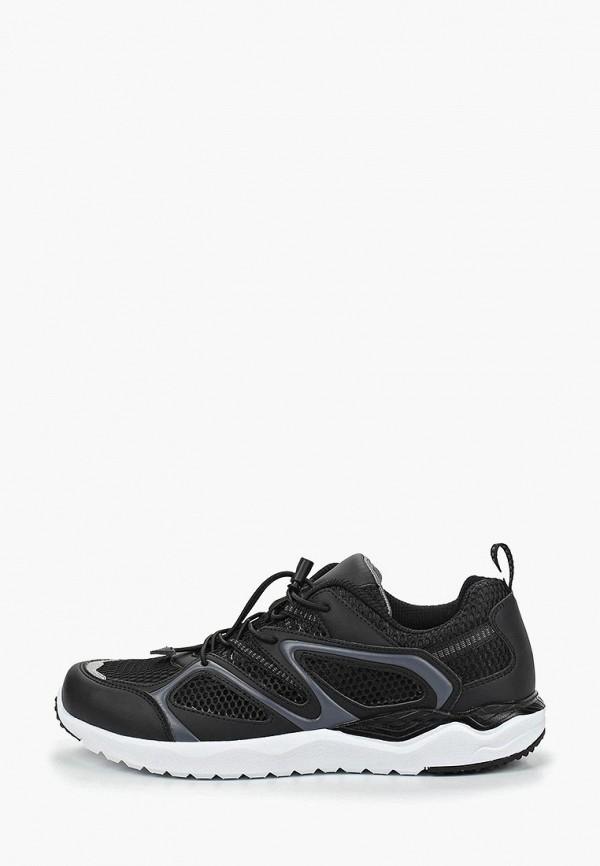 мужские кроссовки escan, черные