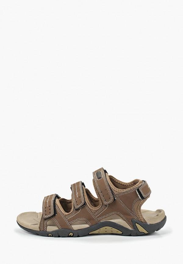 мужские сандалии escan, коричневые