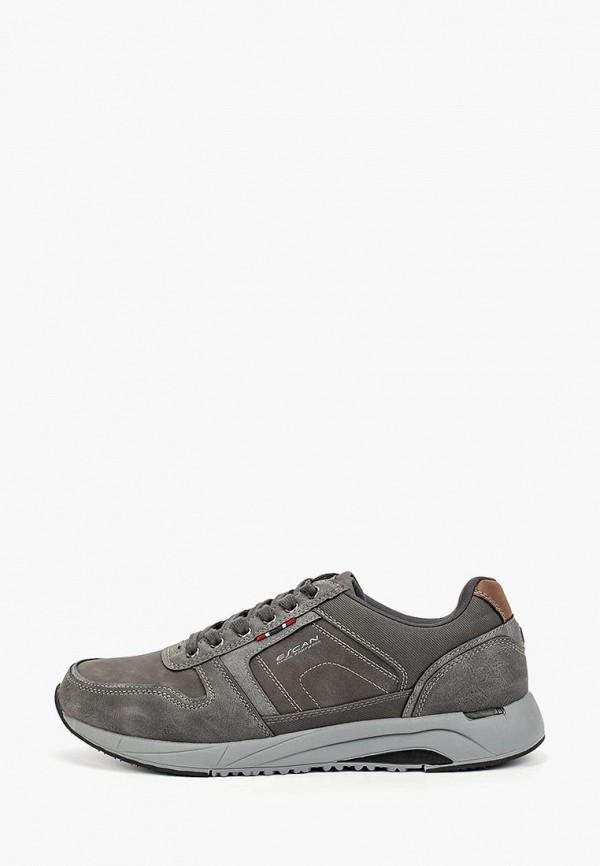 мужские кроссовки escan, серые