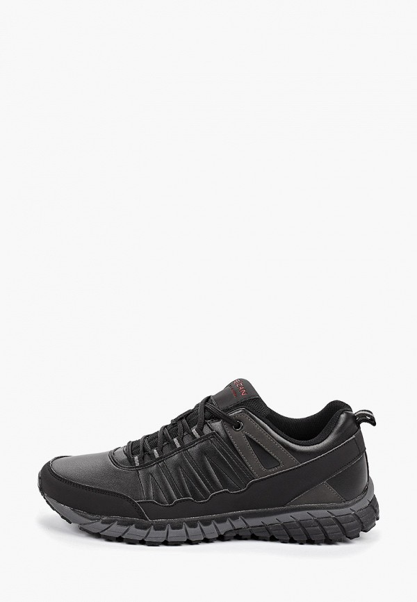 Фото - Мужские кроссовки Escan черного цвета