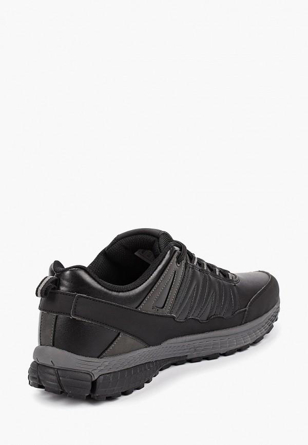 Фото 3 - Мужские кроссовки Escan черного цвета