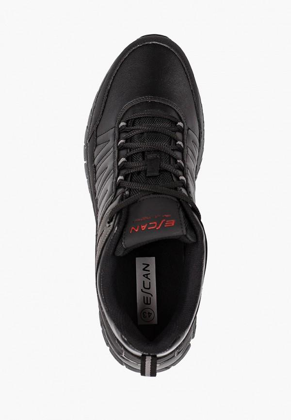 Фото 4 - Мужские кроссовки Escan черного цвета