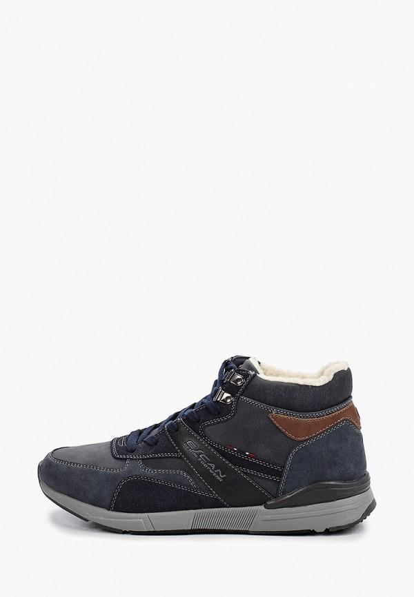 мужские ботинки escan, синие