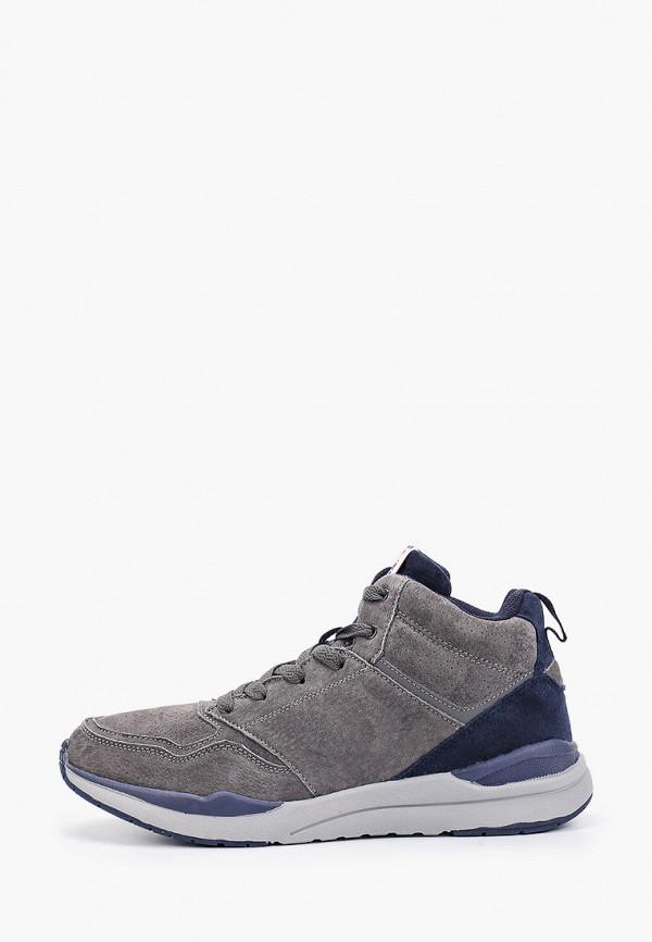 мужские ботинки escan, серые