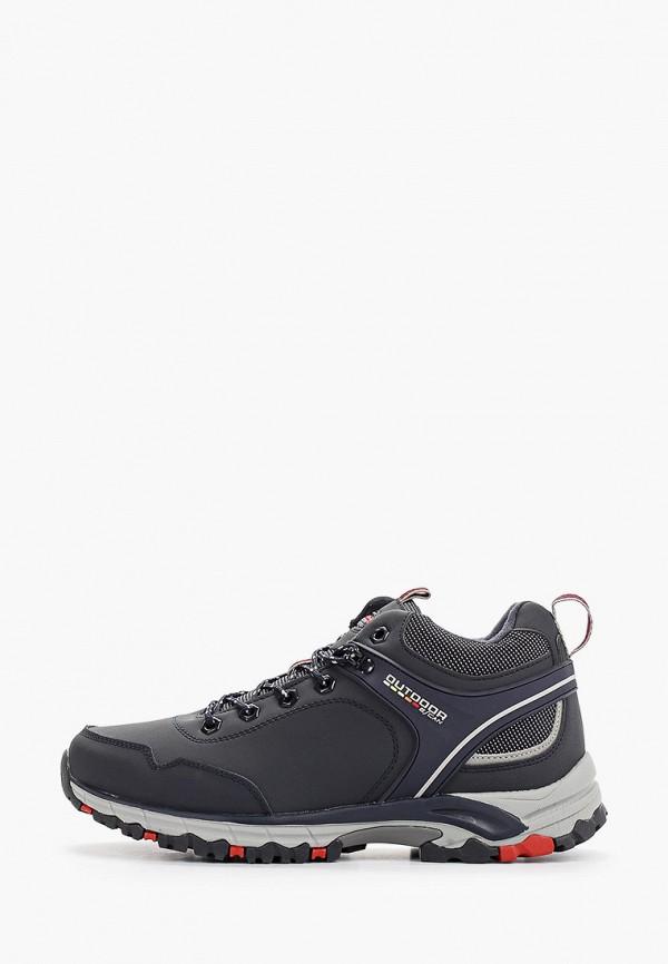 мужские высокие ботинки escan, синие