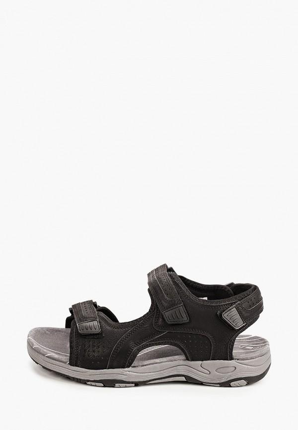мужские сандалии escan, черные