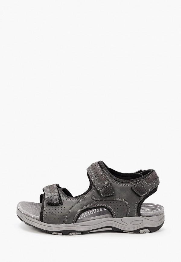 мужские сандалии escan, серые