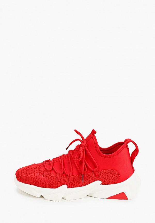 мужские кроссовки escan, красные