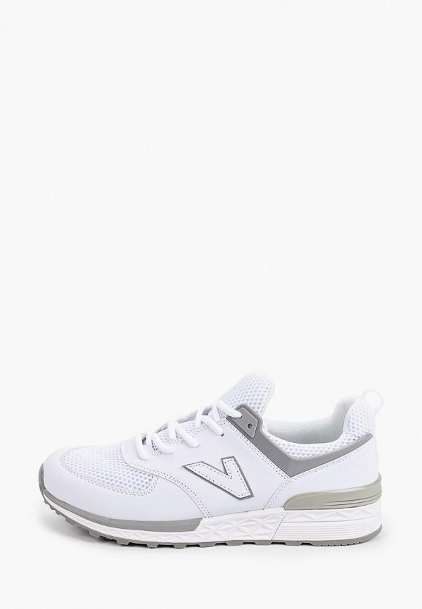 мужские кроссовки escan, белые
