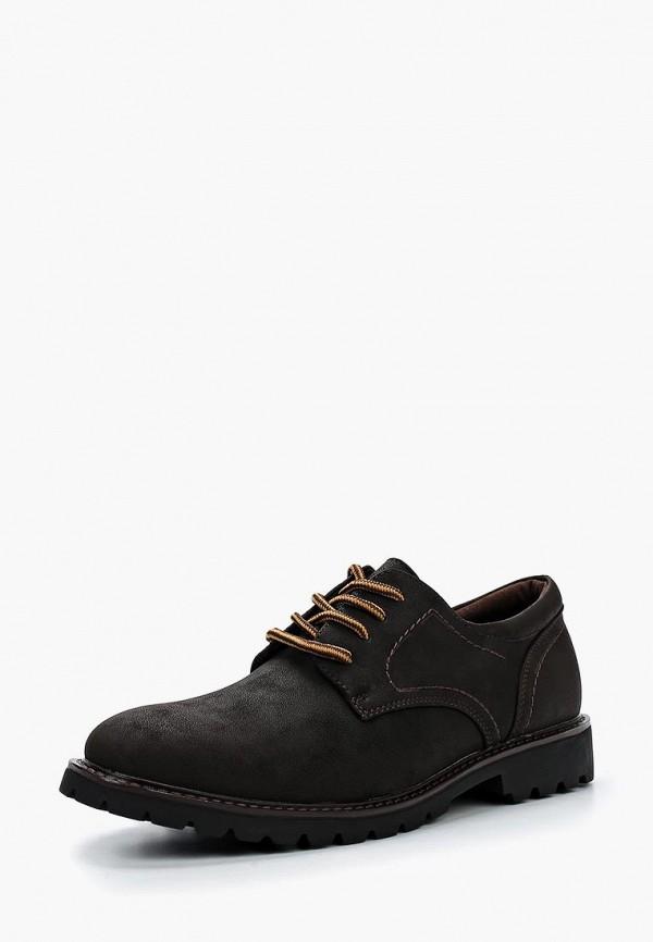 мужские ботинки escan, коричневые