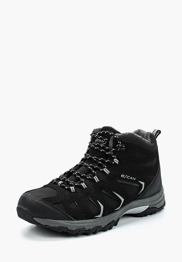 мужские ботинки escan, черные