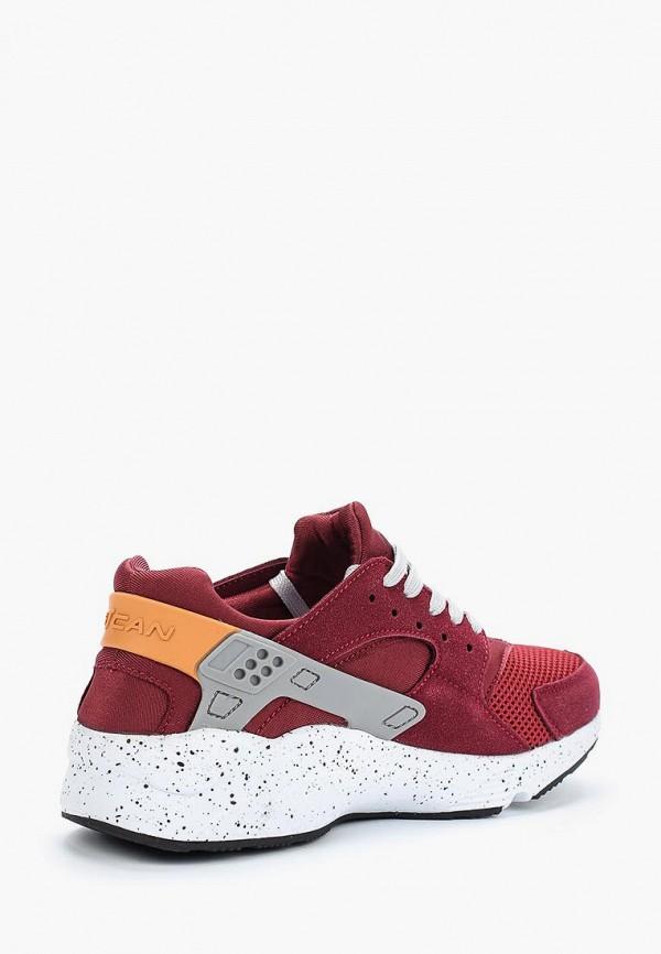 Фото 2 - женские кроссовки Escan бордового цвета