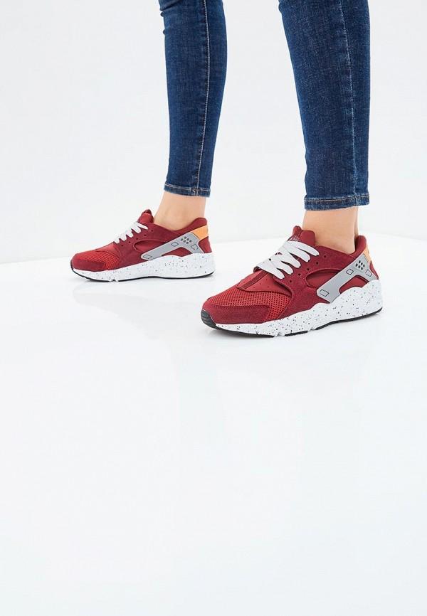 Фото 5 - женские кроссовки Escan бордового цвета