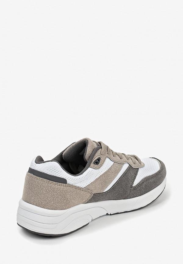 Фото 3 - женские кроссовки Escan серого цвета